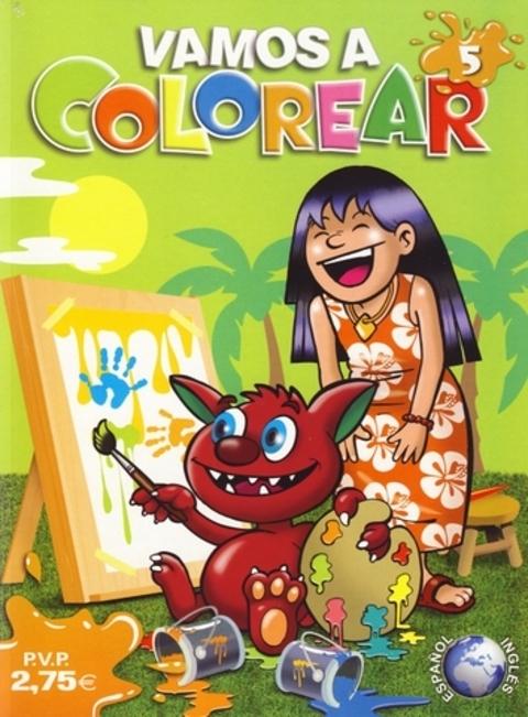 Comics y Cuentos - VAMOS A COLOREAR - Comics y Cuentos