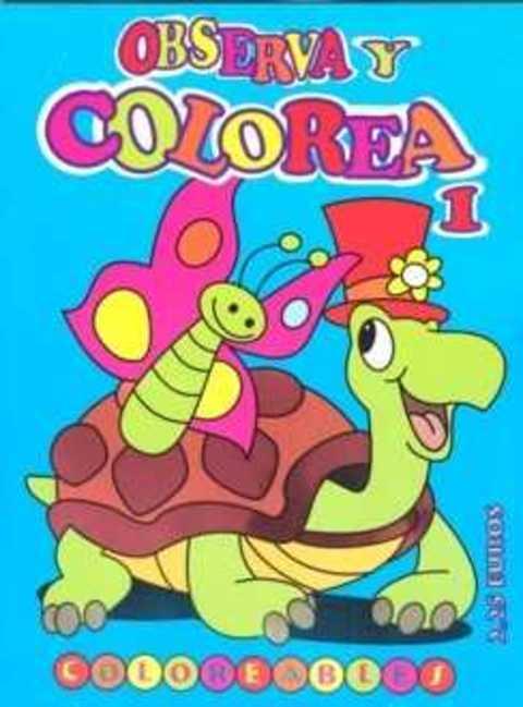 Comics y Cuentos - OBSERVA Y COLOREA - Comics y Cuentos