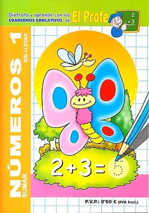 Comics y Cuentos - CUADERNO EDUC.DE NUMEROS - Comics y Cuentos