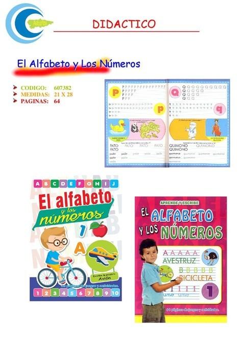 Comics y Cuentos - EL ALFABETO Y LOS NUMEROS - Comics y Cuentos
