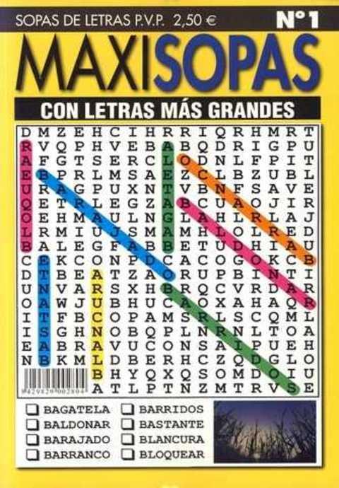 Comics y Cuentos - MAXI SOPAS - Comics y Cuentos