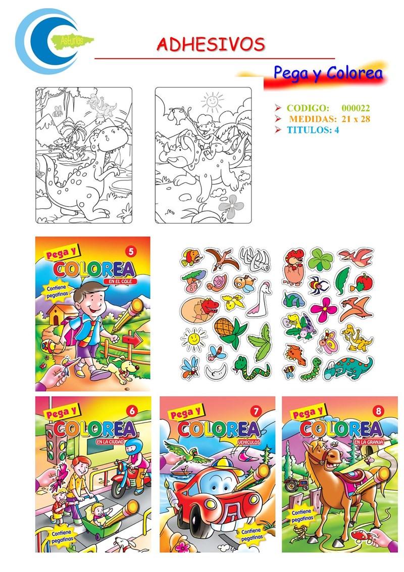 Comics y Cuentos - PEGA Y COLOREA - Comics y Cuentos