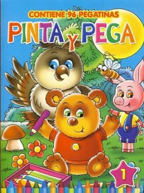 Comics y Cuentos - PINTA Y PEGA - Comics y Cuentos