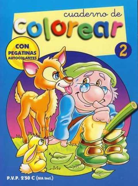 Comics y Cuentos - CUADERNO DE COLOREAR - Comics y Cuentos