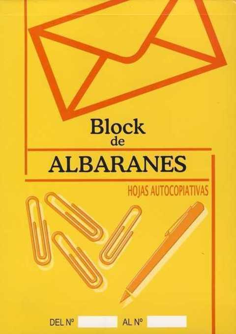 Comics y Cuentos - BLOCK DE ALBARANES - Comics y Cuentos