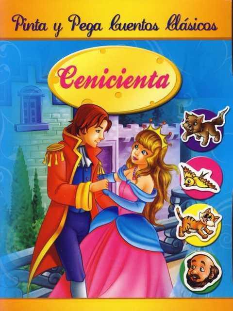Comics y Cuentos - PINTA Y PEGA CUENTOS CLASICOS - Comics y Cuentos