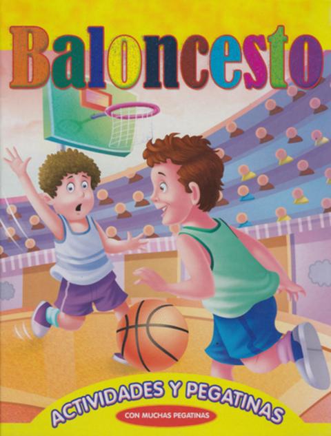 Comics y Cuentos - BALONCESTO-ACTIVIDADES Y PEGATINAS - Comics y Cuentos