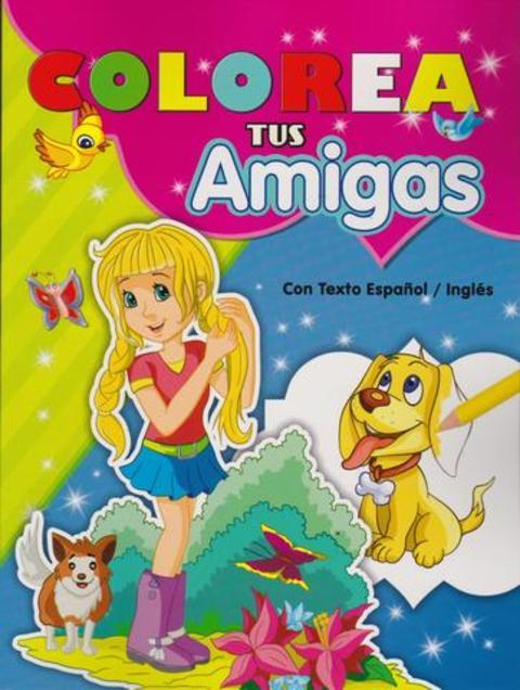 Comics y Cuentos - COLOREAR TUS AMIGAS - Comics y Cuentos