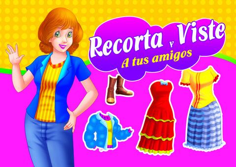 Comics y Cuentos - RECORTA Y VISTE A TUS AMIGOS - Comics y Cuentos