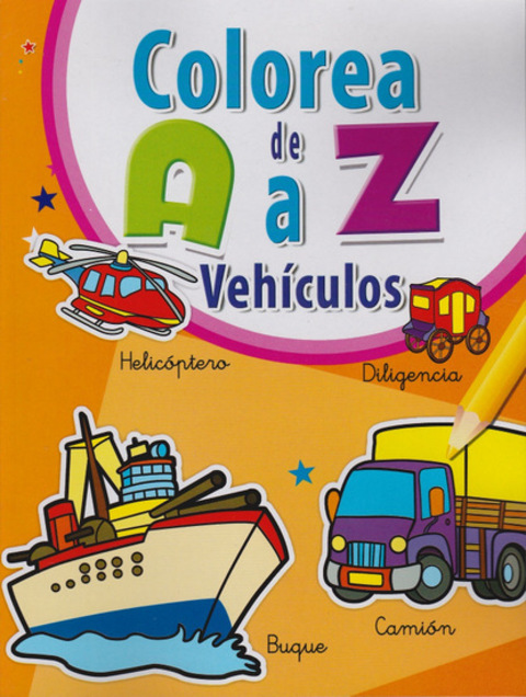 Comics y Cuentos - COLOREA AZ - Comics y Cuentos