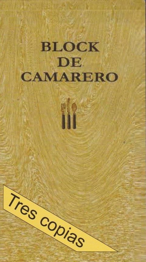 Comics y Cuentos - CAMARERO 3 COPIAS - Comics y Cuentos