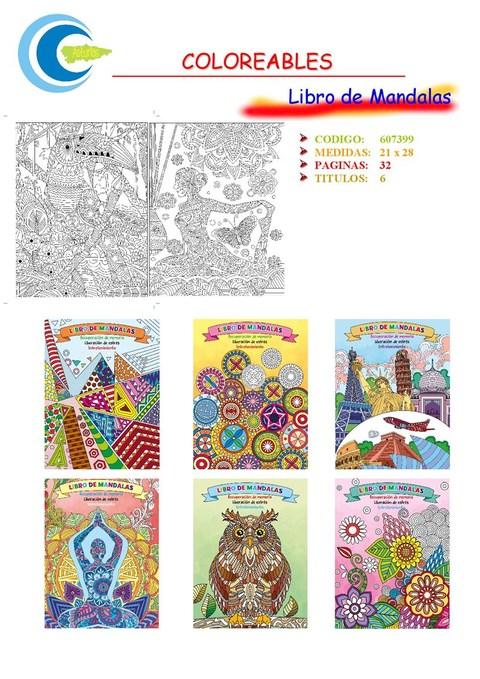Comics y Cuentos - LIBRO DE MANDALAS - Comics y Cuentos