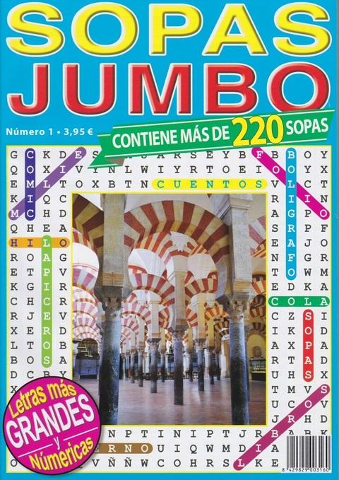 Comics y Cuentos - SOPAS JUMBO - Comics y Cuentos