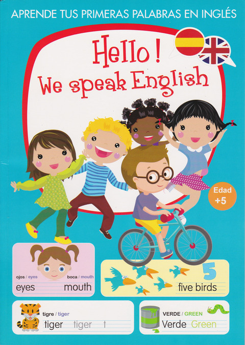 Comics y Cuentos - HELLO WE SPEAK ENGLIS - Comics y Cuentos