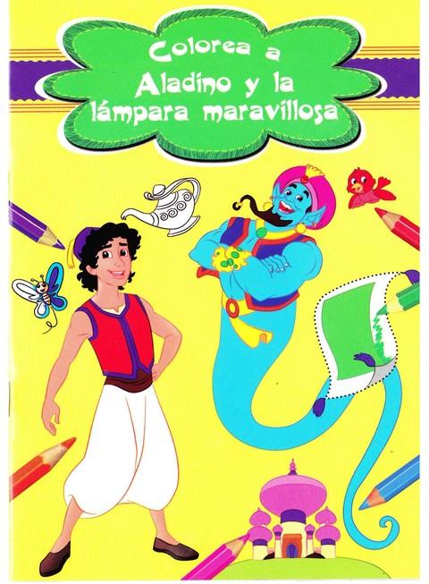 Comics y Cuentos - BLISTER 4 CUENTOS CLASICOS COLOREAR - Comics y Cuentos