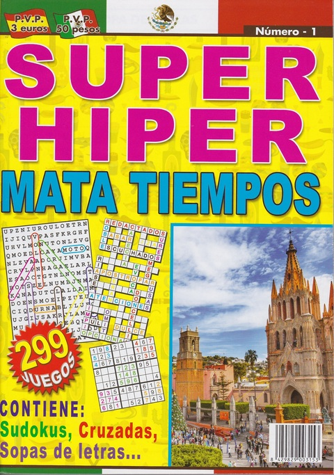 Comics y Cuentos - SUPER HIPER MATA TIEMPOS - Comics y Cuentos