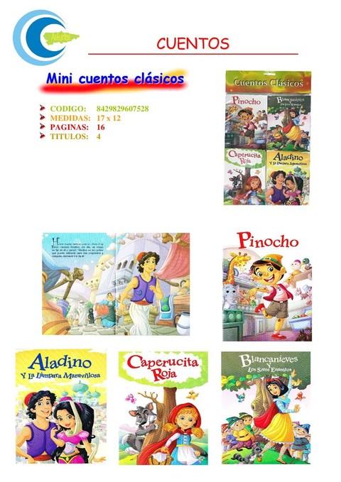Comics y Cuentos - BLISTER 4 CUENTOS CLASICOS - Comics y Cuentos