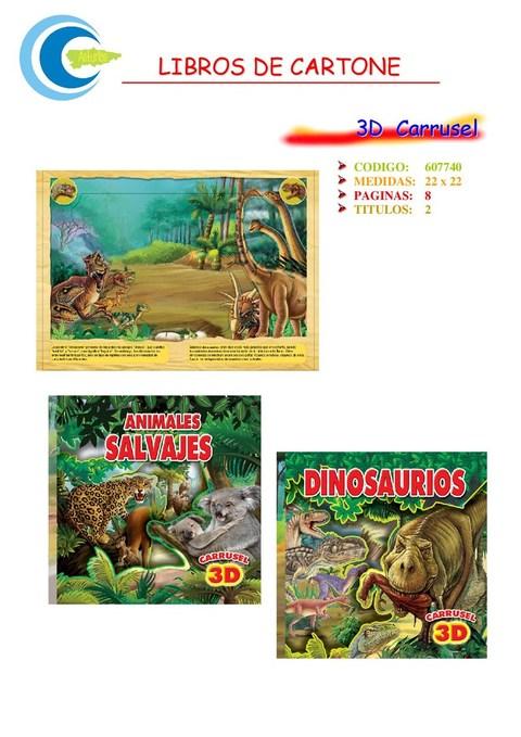Comics y Cuentos - 3D CARRUSEL - Comics y Cuentos