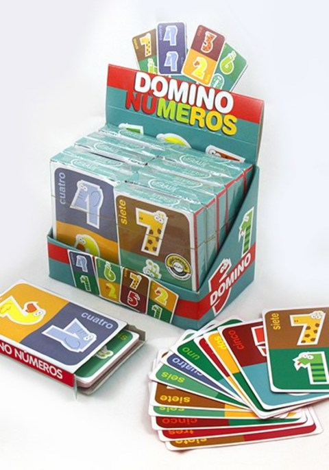 Comics y Cuentos - BARAJA DOMINO NÚMEROS - Comics y Cuentos