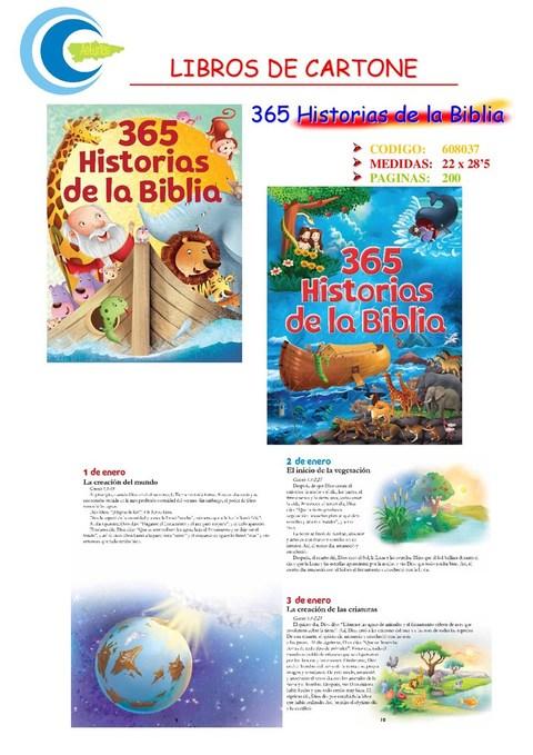 Comics y Cuentos - 365 HISTORIAS DE LA BIBLIA - Comics y Cuentos