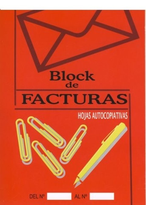 Comics y Cuentos - BLOCKS DE FACTURAS - Comics y Cuentos