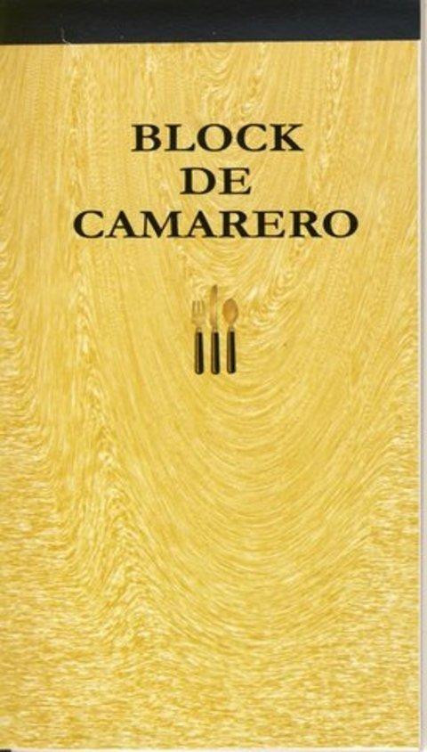 Comics y Cuentos - BLOCK DE CAMARERO - Comics y Cuentos
